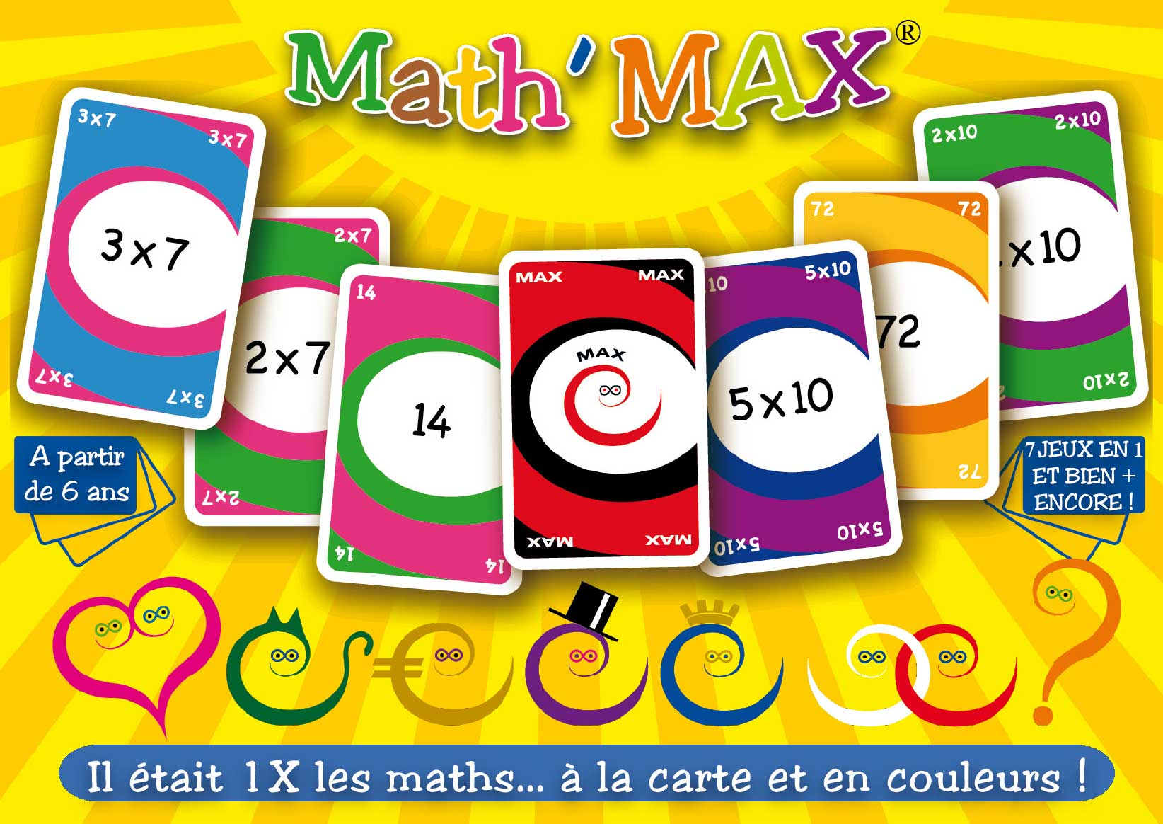 Sandra moreira editions cr ation et dition de jeux de for Jeu des multiplications